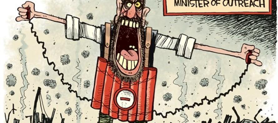 Radical Islam Outreach (Cartoon)