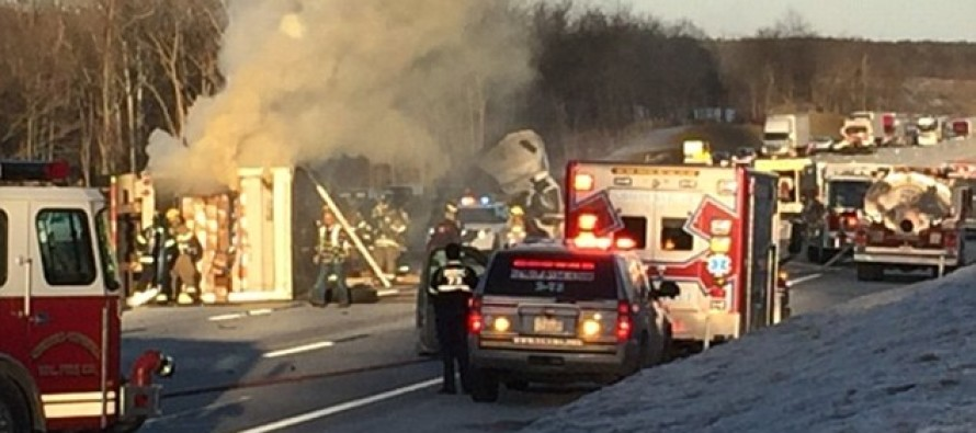 WOW: Moment When Car Goes Up In Flames- But It's What Happened Before That, That's Making News!