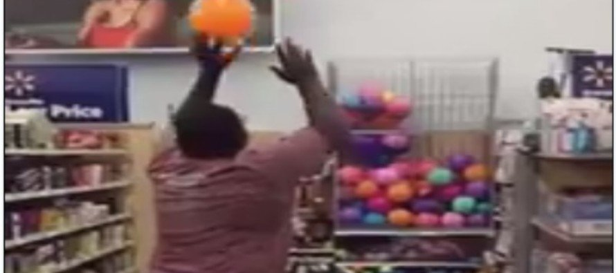 VIDEO: The Greatest Three Point Shot In Wal-Mart History