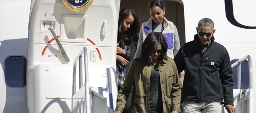 Obama USES both Air Force Ones to go hiking in the Andes mountains – Taxpayer Dollars At Work