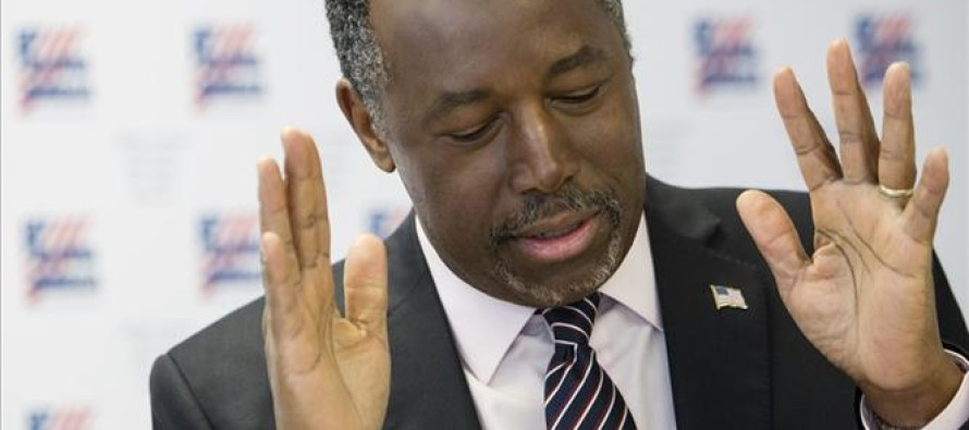 Carson not dropping out yet, barely picked up any delegates on Super Tues – no way forward?