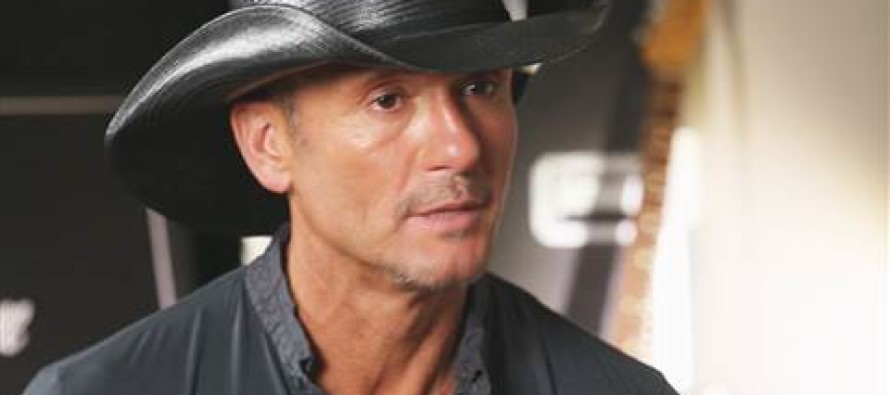 Tim McGraw Asks for Prayers – He Needs Our Support