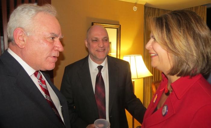 John LaRosa chats with Kelli Ward at her event