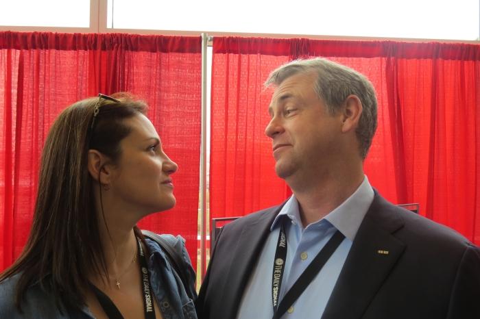 Irina Moises and Kurt Schlicter