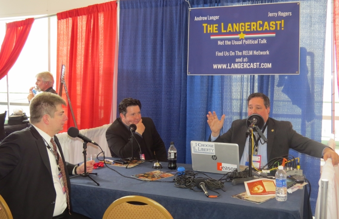 Jim Geraghty talks to Andrew Langer on Radio Row