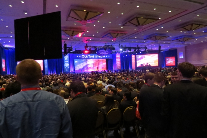 The most packed CPAC was for any event was when Rubio spoke