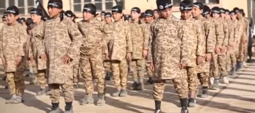 REVEALED: ISIS training massive NEW army of killers — young children