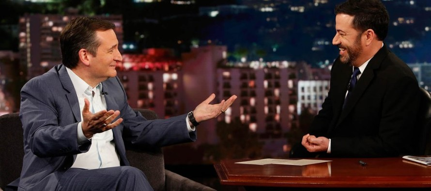 Jimmy Kimmel Tries to Corner Cruz… BAD Idea!