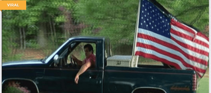 The School Told Him To Take His American Flags Off His Truck – Then He Gave This EPIC Response!