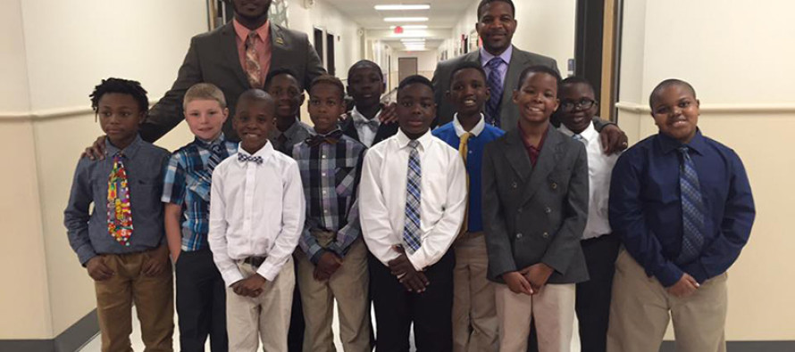 'The Gentleman's Club', Started By Teachers, Helps Boys With No Fathers Learn Manners