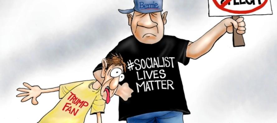 Thug Lives Matter (Cartoon)
