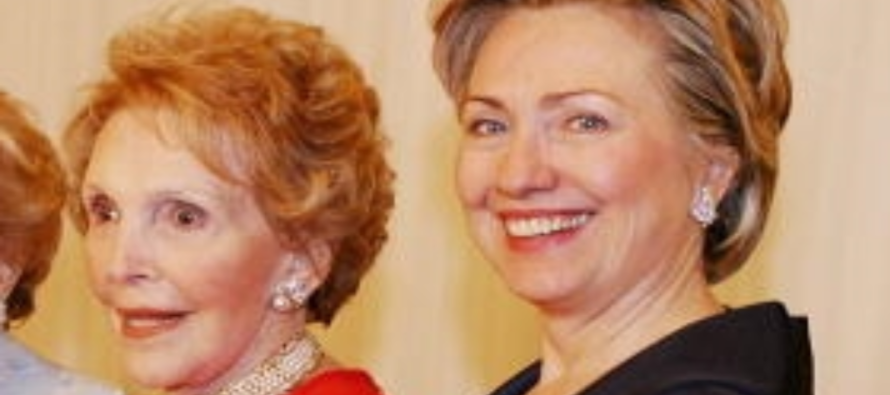 Hillary Accused Of Using Nancy Reagan To Re-Write History For Her Own Gain – Then KARMA Strikes!