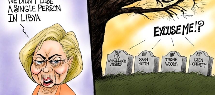 Benghazi 4 Forgotten (Cartoon)