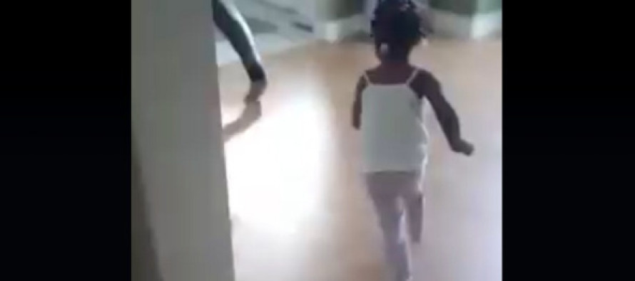 Girl is Chased by Security Officer Who Happens to be Her Father – Her Offense? WATCH!
