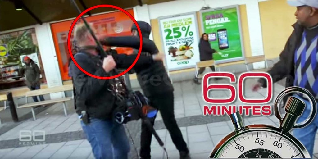 Migrant-Refugees-Attack-60-Minutes-TV-Crew-in-Sweden