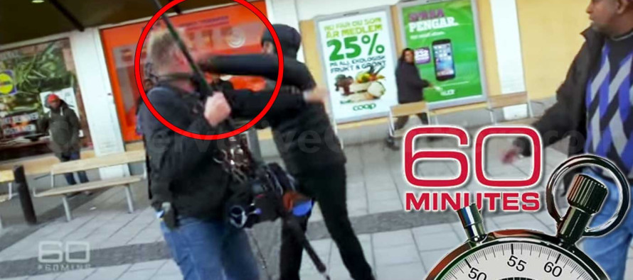The Horrifying Moment a '60 Minutes' Crew Is Savagely Attacked By Muslim 'Refugees'