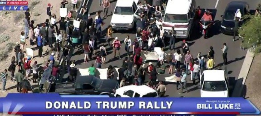 SOROS FELLOW From New Orleans Led Protesters In Phoenix To Shut Down Trump Rally