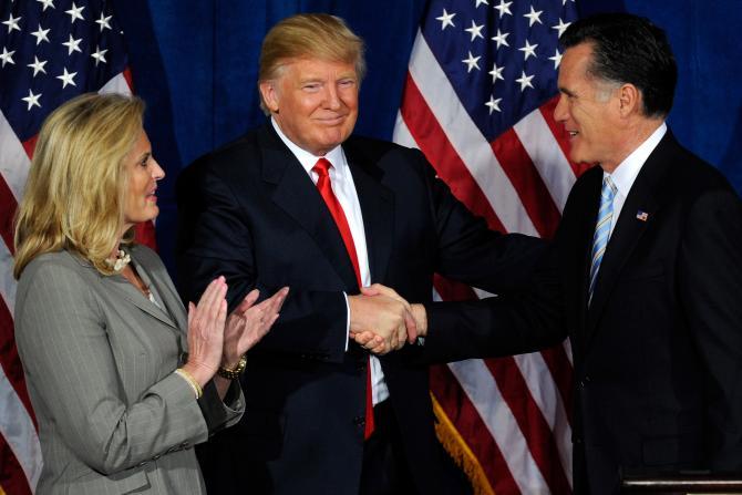 Romney Trump