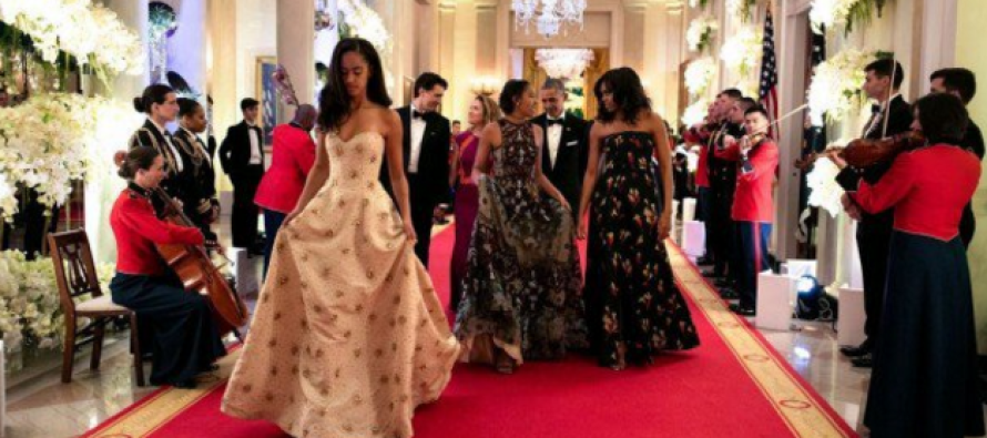 Outrage After the Obama Daughters Do THIS at a State Dinner