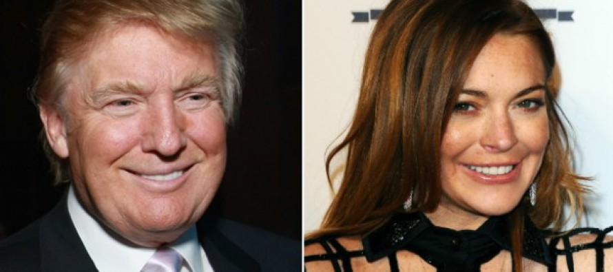 Lindsay Lohan Just Said THIS About Donald Trump Critics – It Might Not Be What You Think!