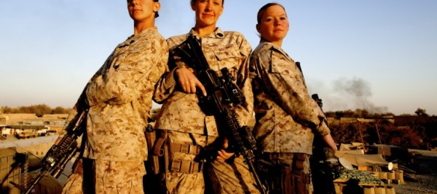 All Marines Forced To Go Through Training To Erase 'Bias' As Women Enter Combat Roles
