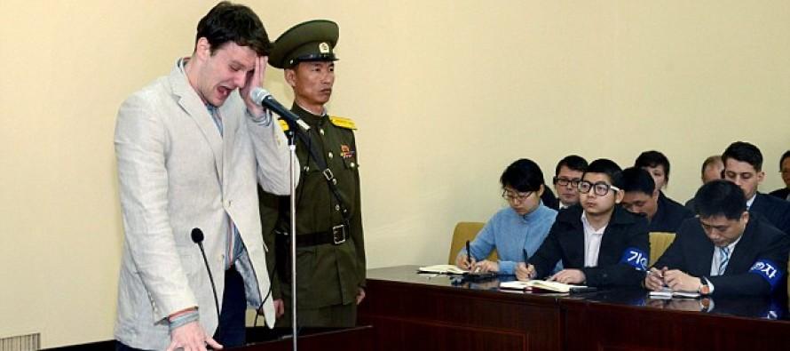 US Student Brings America To Tears As He Breaks Down, Sentenced To 15-Yrs In N. Korean HELL