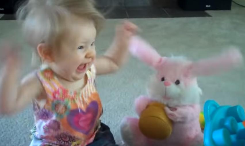 baby girl easter bunny