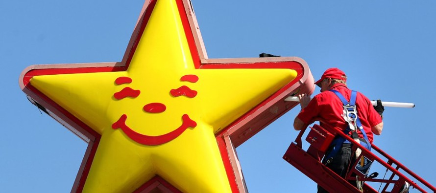 California Liberals Furious as  Carl's Jr. Restaurants Do This