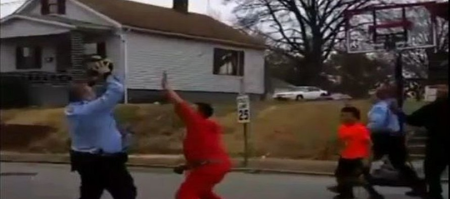 Cops In St. Louis See Kids In Middle Of The Street… What They Did Next Is Going VIRAL [Watch]