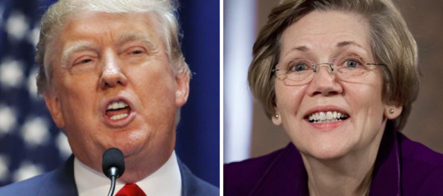"Donald Trump Mocks Liz Warren as ""The Indian"" After Her Anti-Trump Twitter Tirade"