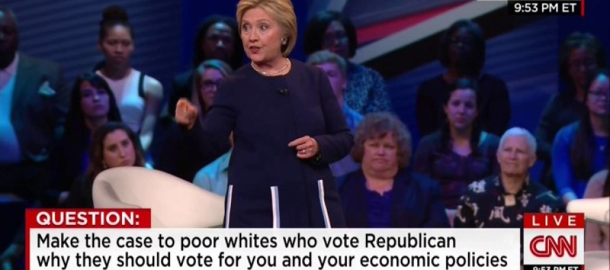 Hillary Boasts to Liberal Audience About the Middle Class Profession She Will Put Out of Work