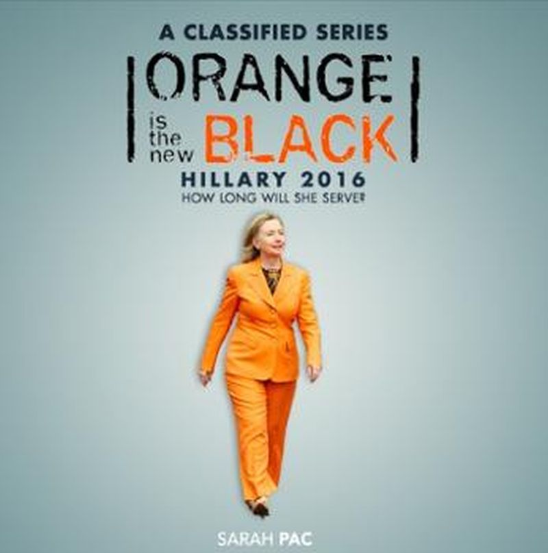 hillary orange is new