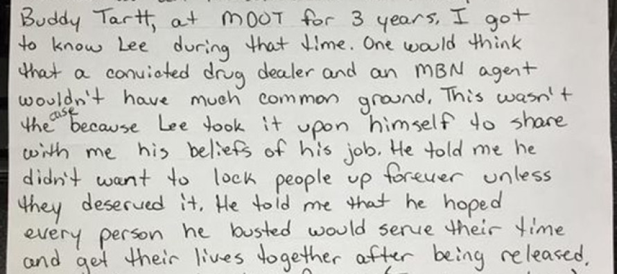 The Letter An Inmate Sent From Prison To A Fallen Officer is AMAZING