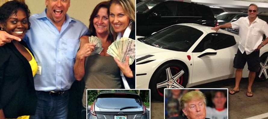 Meet the Number One Trainer at Trump University: A Convicted Felon Who is STILL Promising He Can Make You Rich