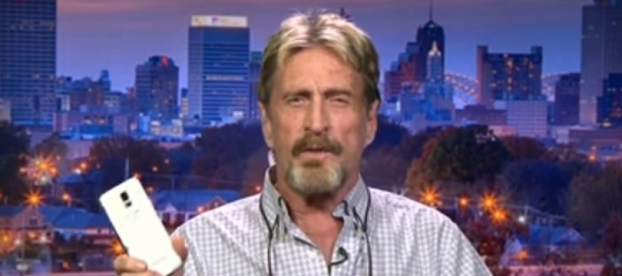 John McAfee Revealed How to Crack the iPhone on National TV