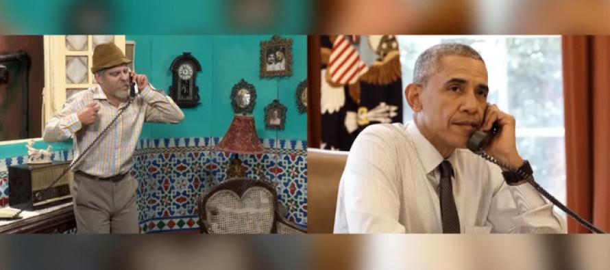 Obama Stars in Popular TV Show in Cuba in Propaganda Skit Praising Cuban Way of Life