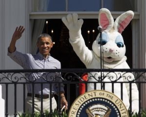 Obama introduces his new cabinet level director of government handouts.