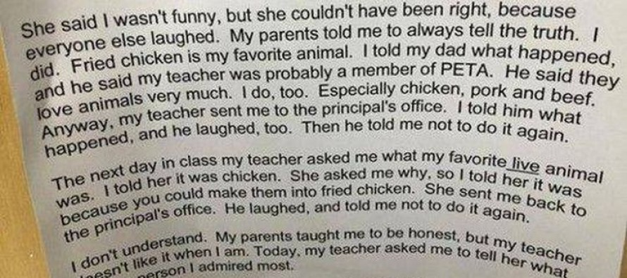 This Hilarious Joke Sums Up The State of Public Education in The USA