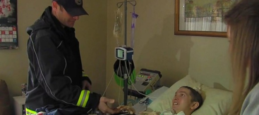 A Firefighter Just Paid a $1,000 Electric Bill to Keep a Teen on a Ventilator