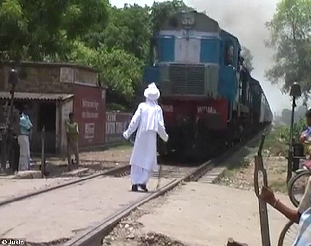 train guy