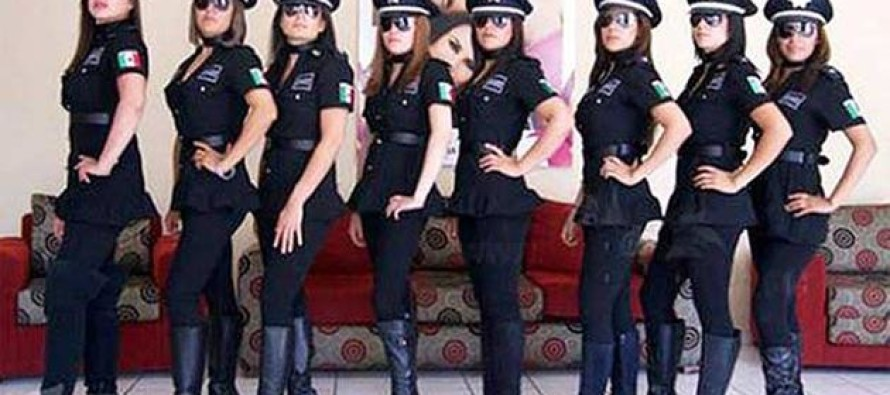 Super Sexy All Female Mexican Police Squad Stirs Major Controversy After Chief Does THIS…