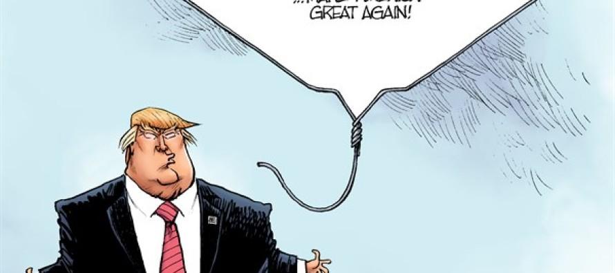 Trump Campaign (Cartoon)