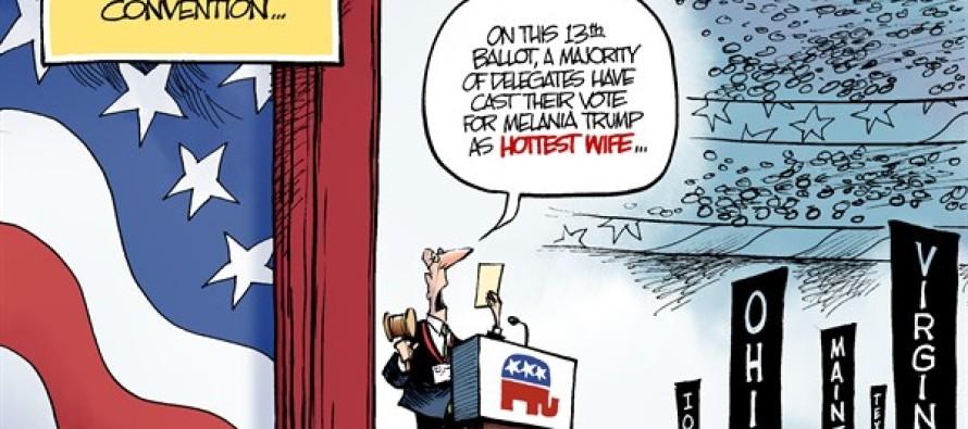 Contested Convention (Cartoon)