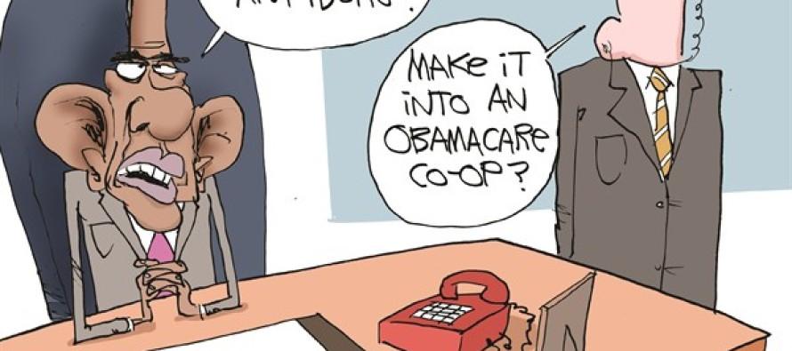 Obama Can't Close Gitmo (Cartoon)