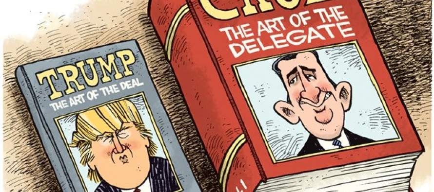 Art of the Delegate (Cartoon)