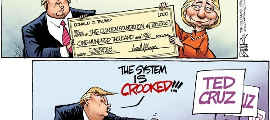 Donald Diatribe(Cartoon)