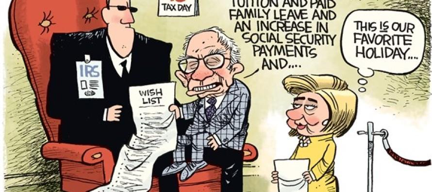 Tax Day 2016 (Cartoon)
