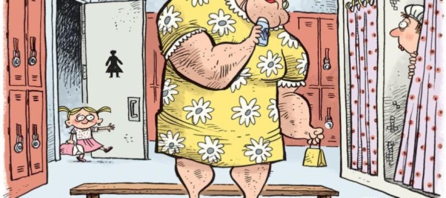 Potty Problems (Cartoon)