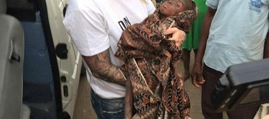 UPDATE! Remember The 2 Yr-Old Starving Boy Deemed A Witch, Left To Die? Look At Him NOW!
