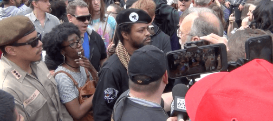 Chaos breaks out as Black Panthers crash Donald Trump rally in Portland [VIDEO]